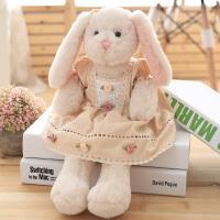 可爱小兔子公仔毛绒玩具小号长耳朵兔布娃娃女生儿童可爱抱抱熊