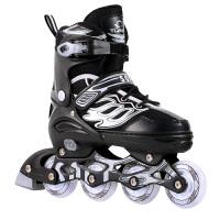 男女儿童全套装直排轮滑鞋初学者可调溜冰鞋成年旱冰鞋滑冰