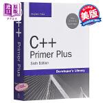 【中商原版】C++ PRIMER PLUS (C++经典课程)(第6版) 英文原版 C++ Primer Plus (