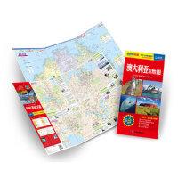【正版全新直发】版世界分国目的地地图:澳大利亚旅游地图 王婧作 9787503172632 中国地图出版社