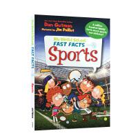 【全店300减100】英文原版 My Weird School Fast Facts: Sports Dan Gutma