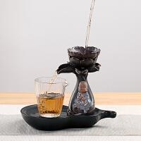 陶瓷茶漏茶滤组合莲花茶叶过滤器泡茶懒人茶具用品配件滤网