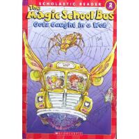 英文原版Magic School Bus Science Reader: Gets Caught In A Web (L