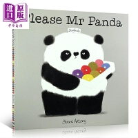 【中商原版】礼貌的熊猫先生:请 Please Mr Panda 礼仪课堂 儿童品格培养手册 社交早教 懂礼貌品格启蒙 平