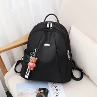 女士包包双肩包女2018新款韩版潮牛津布帆布休闲百搭旅行背包