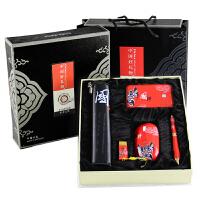 商务礼品定制送客户实用员工福利纪念品创意中国特色礼品开学礼物送老师同学笔记本U盘鼠标礼盒SN338