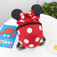 儿童背包潮防走丢带宝宝背包1-3岁可爱男婴儿韩版一两女孩小书包