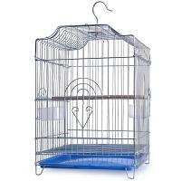 不锈钢色鸟笼八哥画眉鹩哥鹦鹉鸟笼子鸽子笼大号特大号超大养殖笼