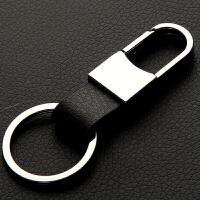 汽车钥匙扣 男士女士腰挂钥匙链挂件 简约皮质钥匙圈 创意礼物礼品