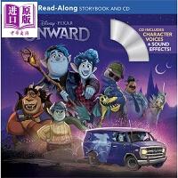 【中商原版】独立阅读故事:觅法奇程(配CD)Read-Along Storybook and CD 独立阅读入门 迪士尼