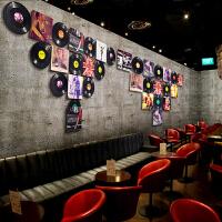 复古黑胶唱片装饰酒吧咖啡厅墙面壁挂