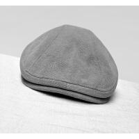四季鸭舌帽贝雷帽中年大头男士复古做旧春夏潮休闲文艺帽子前进帽