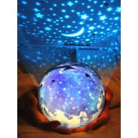 浪漫星空投影��x旋�D抖音�W�t玩具�和�生日�Y物星光��M天星�P室