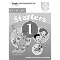 【预订】Cambridge Starters 1 Answer Booklet: Examination