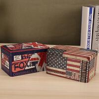 创意马口铁盒子长方形糖果收纳盒
