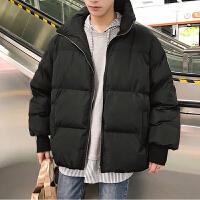 立领面包服韩版加厚宽松棉衣潮chic学生棉服冬季新款男士袄子