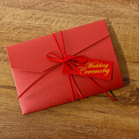 创意个性结婚请柬请帖欧式婚礼打印定制喜帖小清新邀请函礼品