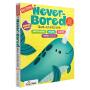 【全场300减100】英文原版 My First Never Bored Giant Activity Book Age 4-6岁幼儿园小中大班儿童教辅 智趣满分益智启蒙亲子互动趣味游戏活动书