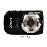 Ordro/欧达 DC-T8 数码照相机超薄高清卡片机 笑脸 防抖 光变1600万,3.0寸儿童