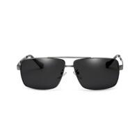 男潮人开车太阳眼镜方形太阳镜男偏光镜司机墨镜