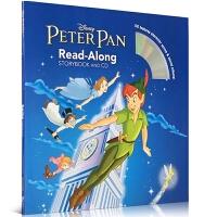 原版英文 Peter Pan 小飞侠彼得潘 Disney 迪士尼 附正版CD 儿童有声绘本