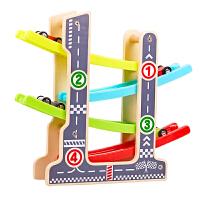儿童玩具男孩女惯性回力小汽车1--3周岁宝宝轨道车