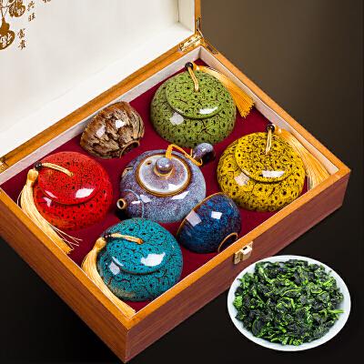 安溪铁观音茶叶礼盒装500g特级浓香型乌龙茶春节年货*礼品