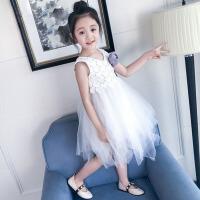 女童连衣裙2018新款韩版时尚夏装蓬蓬纱裙子儿童夏季洋气公主裙