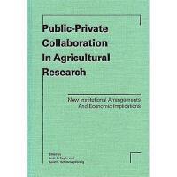【预订】Public-Private Collaboration In Agricultural