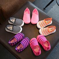 学步鞋夏季新款男女宝宝鞋子网鞋镂空婴儿凉鞋