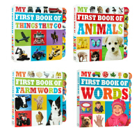 英文进口原版 My First Book of Farm Words/Animals/Words/Things tha