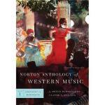 【预订】Norton Anthology of Western Music