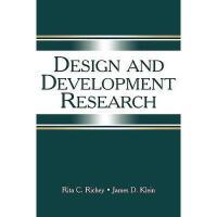 【预订】Design and Development Research: Methods