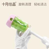 旋转奶瓶清洁海绵刷 奶瓶刷套装 奶瓶奶嘴清洁
