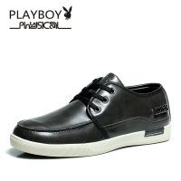 PLAYBOY/花花公子男鞋 皮鞋 英伦复古舒适耐磨商务休闲鞋OL上班正装鞋男DS1049
