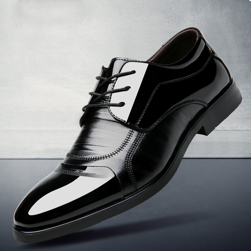 承发  商务休闲皮鞋子男士系带耐磨工作正装 35118 秋冬男靴,新品上架,快来看看吧~