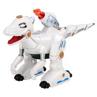 儿童男孩恐龙玩具仿真动物喷火电动机器人战龙大号遥控霸王龙玩具