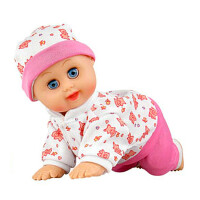 智能儿童女孩过家家娃娃礼物仿真洋娃娃眨眼说话哭笑公主女孩玩具 30厘米