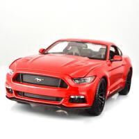 肌肉车福特野马车模 1:18仿真飞车合金汽车模型儿童礼品