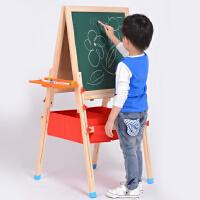 大号实木儿童画板画架小黑板升降支架式家用磁性画画写字板