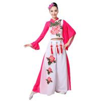广场舞服装女成人秧歌服装现代舞跳舞衣服民族舞蹈服