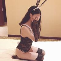 情趣内衣透视装性感蕾丝兔女郎三点小胸诱惑激情制服套装用品SM