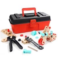 儿童螺母组合拆装玩具拧螺丝拆卸组装3-4-6岁宝宝男孩工具箱
