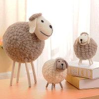 摆件家居饰品创意毛绒玩具玩具摆件礼品礼物