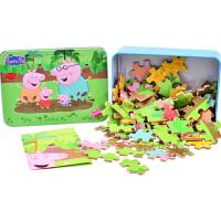 100/200/300片儿童拼图早教益智力海绵宝宝朵拉男女孩玩具3-10岁
