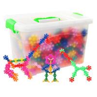 雪花片梅花积木大号塑料拼插男女孩1-2儿童3-6周岁玩具
