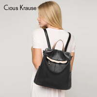 Clous KrauseCK女包双肩包女新款大容量双肩包书包旅行包时尚百搭学院风休闲包包