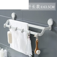毛巾架免打孔吸盘式挂毛巾的免钉挂钩置物挂架厨房抹布浴室卫生间