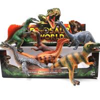 发声恐龙模型仿真软胶捏捏叫霸王龙 戏水宝男孩玩具