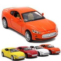 汽车模型 1:32儿童玩具声光回力小汽车
